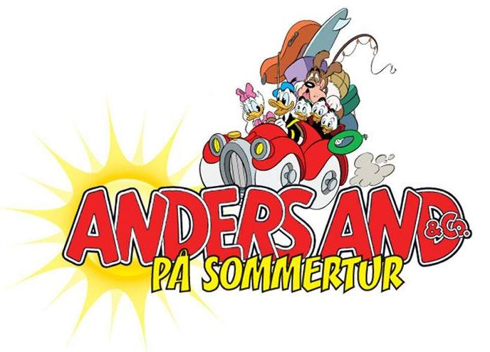 Anders And og Co på sommertur