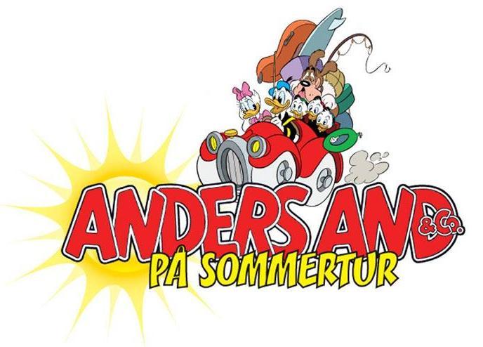 Anders And og Co på sommertur