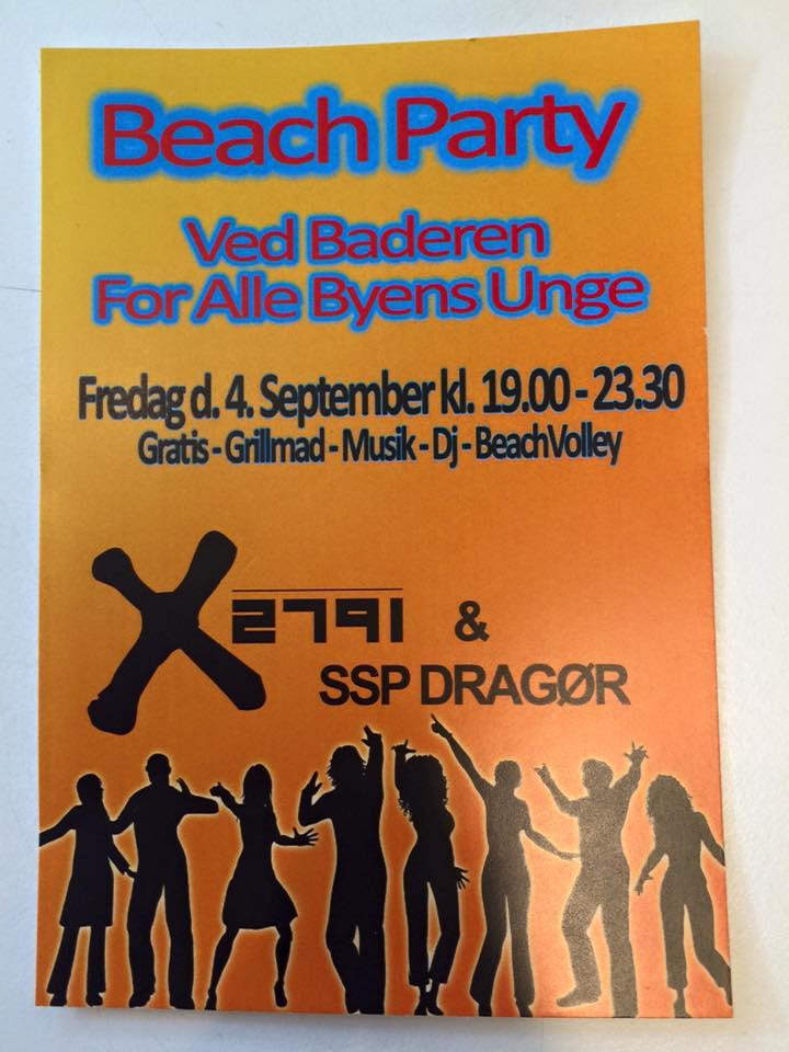 x2791 Beach Party