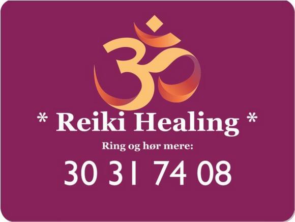 Reiki Healing - Ring og hør mere 30 31 74 08