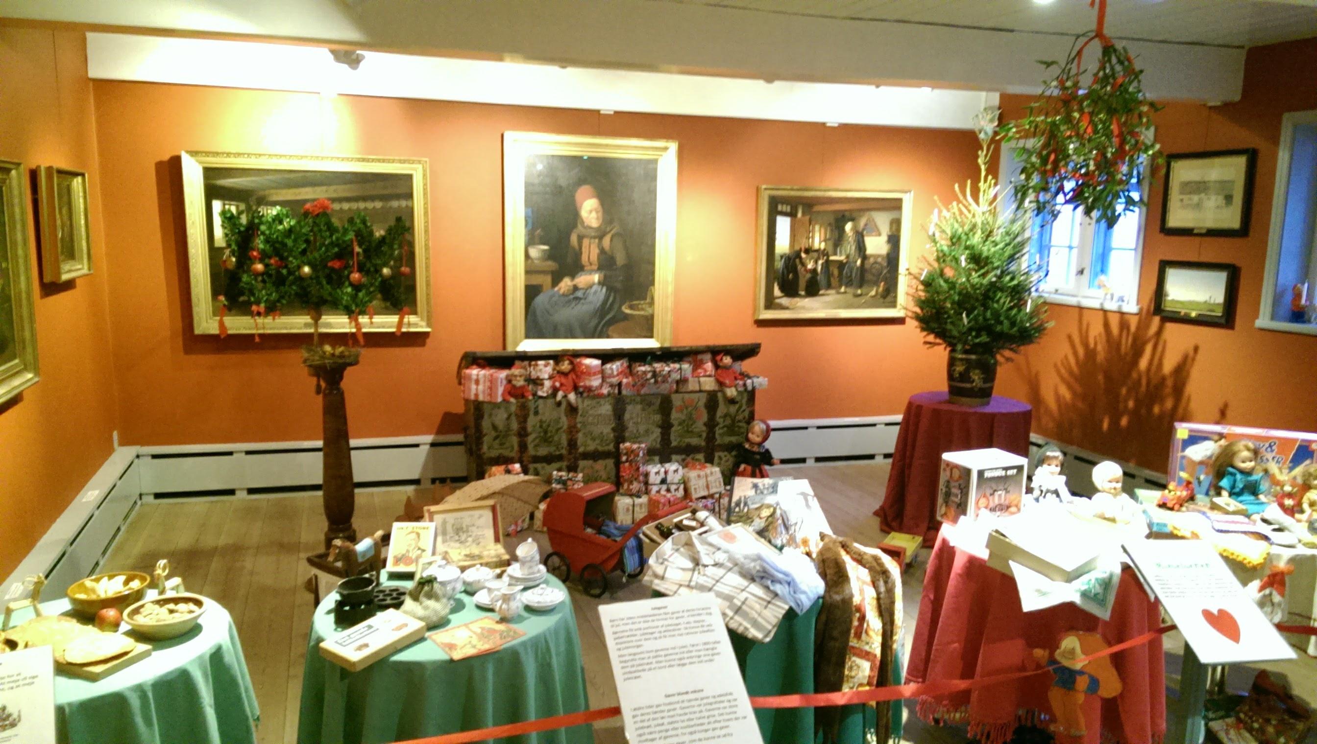 Juleudstilling på Amagermuseet