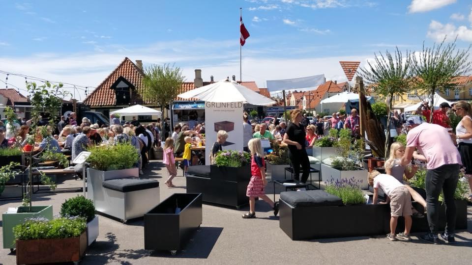 Öresundsmarkedet d 26-28 juni på Dragør Havneplads